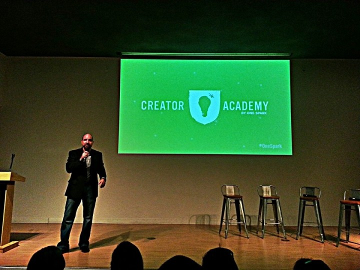 Al Emerick presents the Creator Academy 2014 curriculum for One Spark